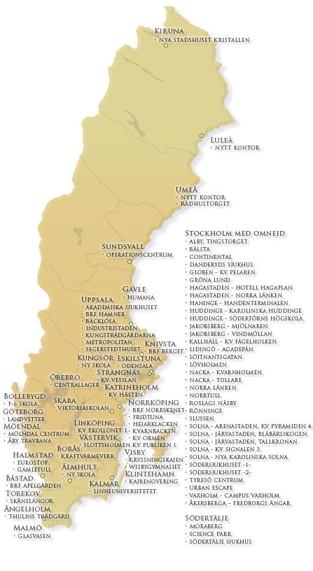 Karta Over Postnummer Sverige.Webbkameror Se Byggkameror Webbkameror Vid Byggen I Sverige