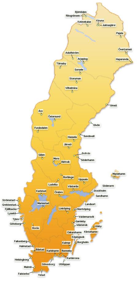Karta Sundsvall Centralstation.Webbkameror Se Karta A O Webbkameror Vaderkameror Citykameror