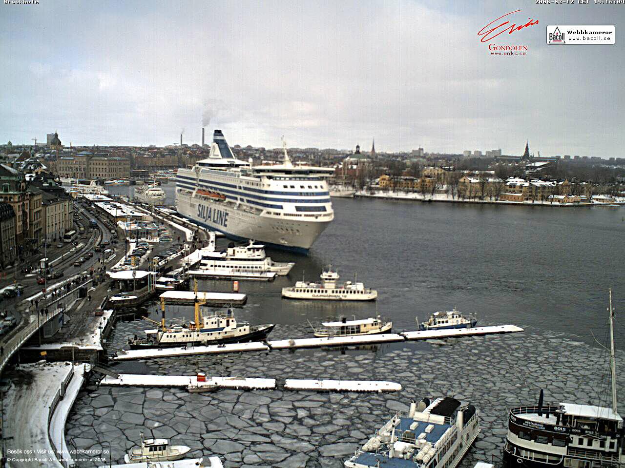 Dettagli webcam Stockholm