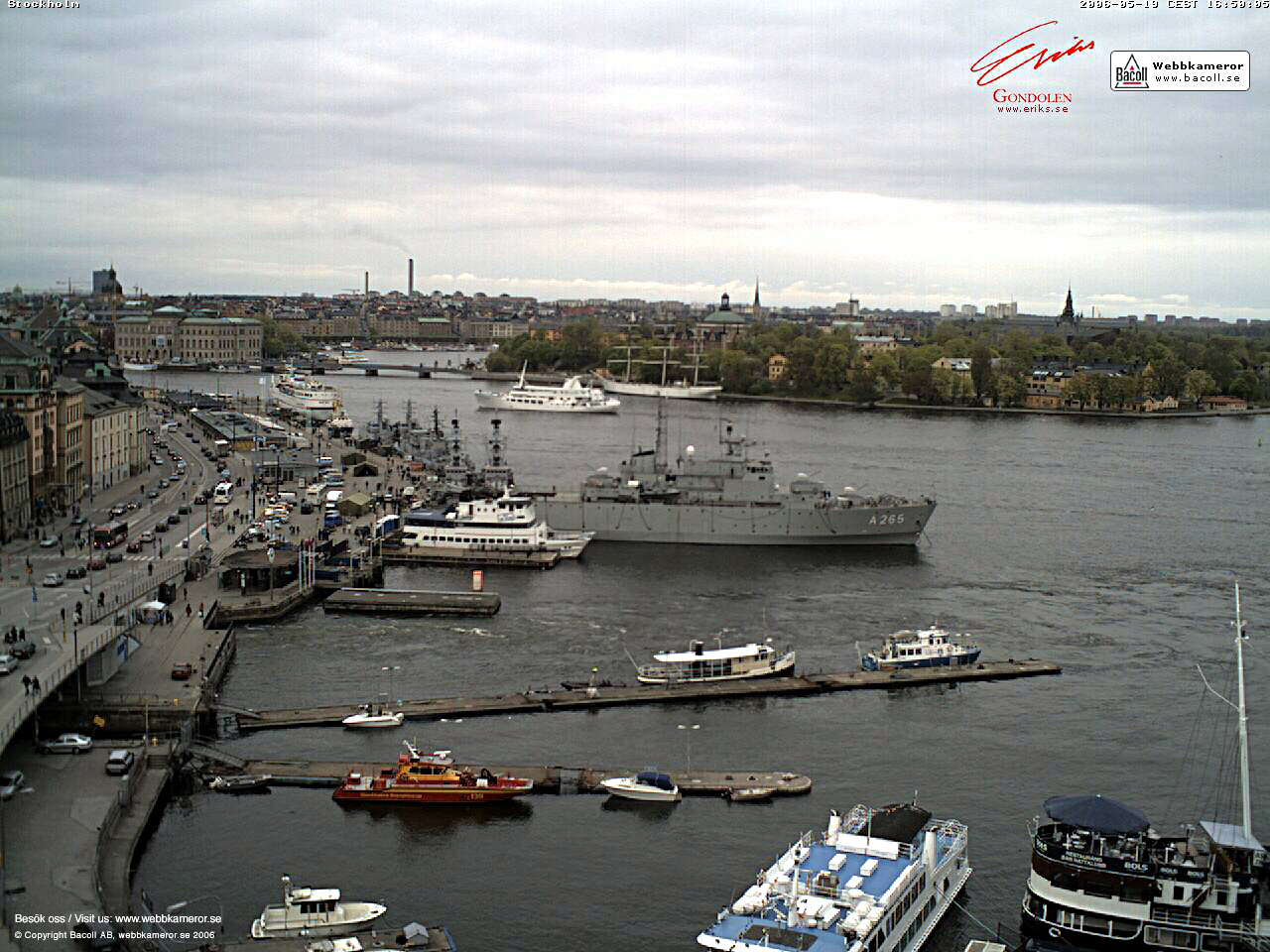 Webkamera, Stockholm, webcam, väder, weather