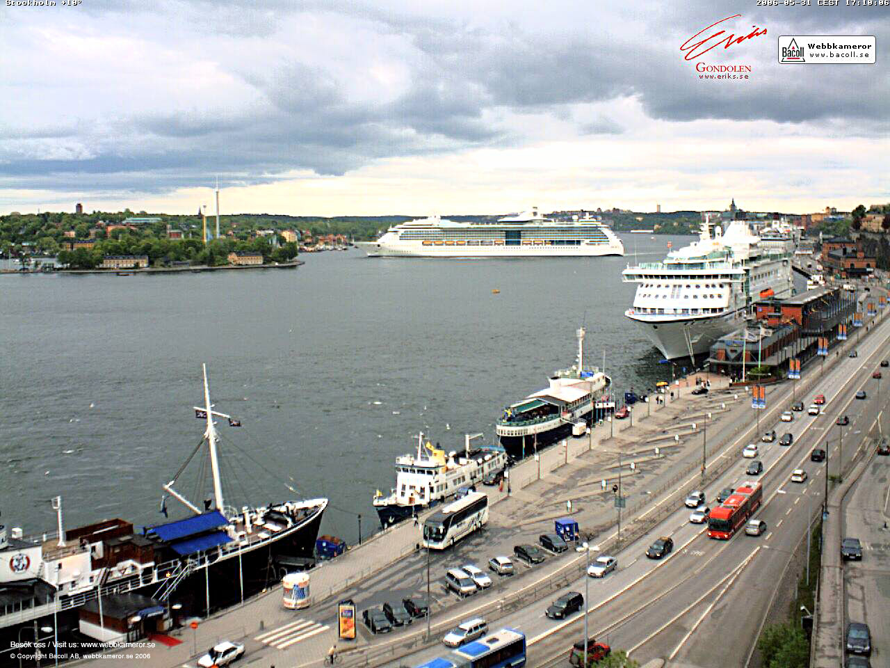 Webbkamera, Stockholm, webcam, väder, weather